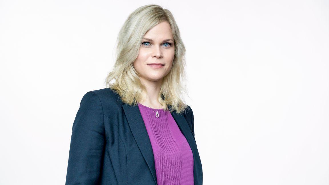 Åklagare Paulina Brandberg, kolumnist på Bulletins ledarsida. Foto: Karl Gabor.