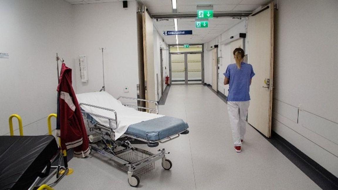 Sjukhuset i Södertälje. Arkivbild. Foto: Martina Holmberg/TT