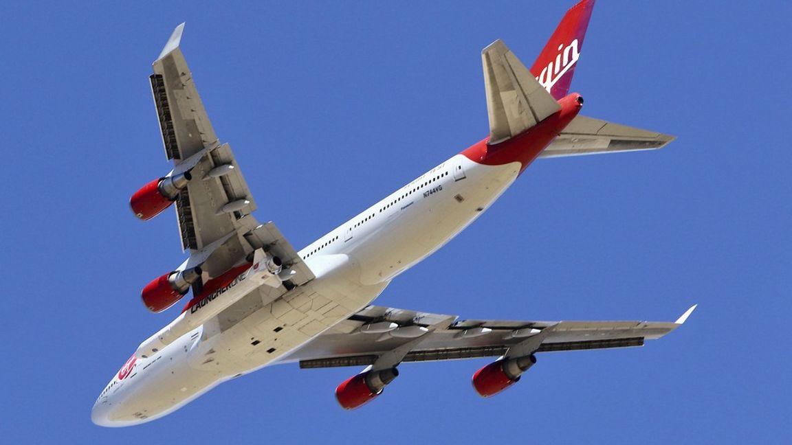 Ett av Virgin Atlantics plan från amerikanska Boeing. Foto: Matt Hartman/AP