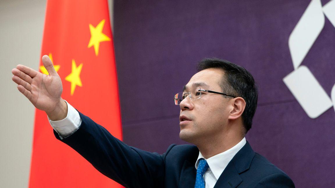 Kinas ekonomi, som är världens näst största, växte med 2,3 procent i fjol trots den globala lågkonjunkturen. FOTO: Mark Schiefelbein.