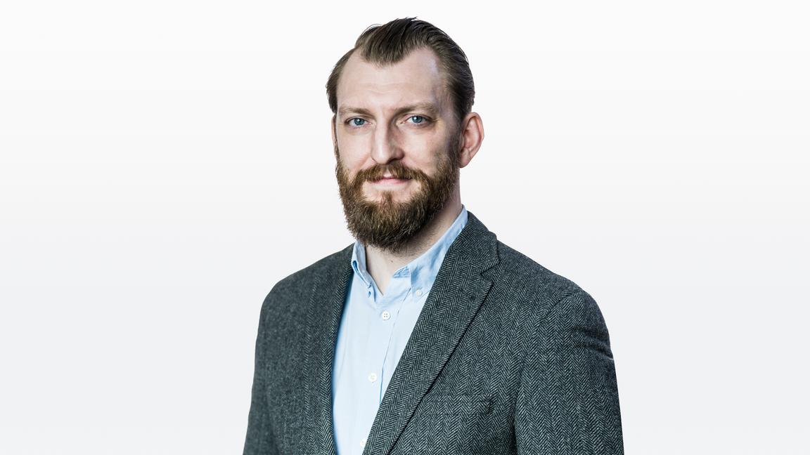 Ivar Arpi, chef för nya medier och krönikör i Bulletin. Foto: Karl Gabor.