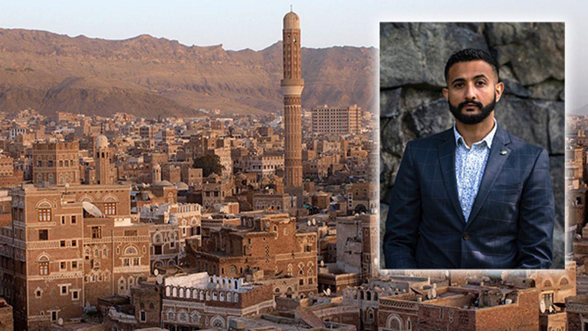 Jemens huvudstad Sanaa. Luai Ahmed är krönikör på Bulletin. Foto: Antti Salonen (CC BY-SA 3.0)/Joakim Eklöf.