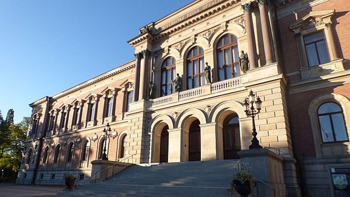 Uppsala Universitet, hemvist för  konservativa studentföreningen Heimdal. Foto: Wikimedia Commons