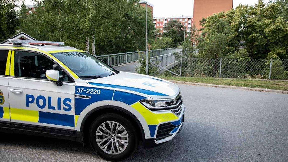 Visättra, Flemingsberg ett av tre nya utsatta områden enligt polisen. Foto: Christine Olsson/TT