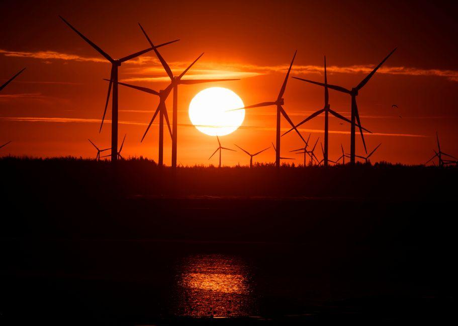 Den stora vindkraftsutbyggnaden betyder att kostnaderna för att garantera det svenska elsystemets leveranssäkerhet kommer att öka kraftigt de kommande åren, uppger myndigheten Svenska kraftnät. Foto: Christian Charisius.