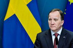 """""""Det här är ingen migrationsfråga"""", sade statsminister Stefan Löfven (S) om Vetlandadådet. Foto: Janerik Henriksson, TT."""