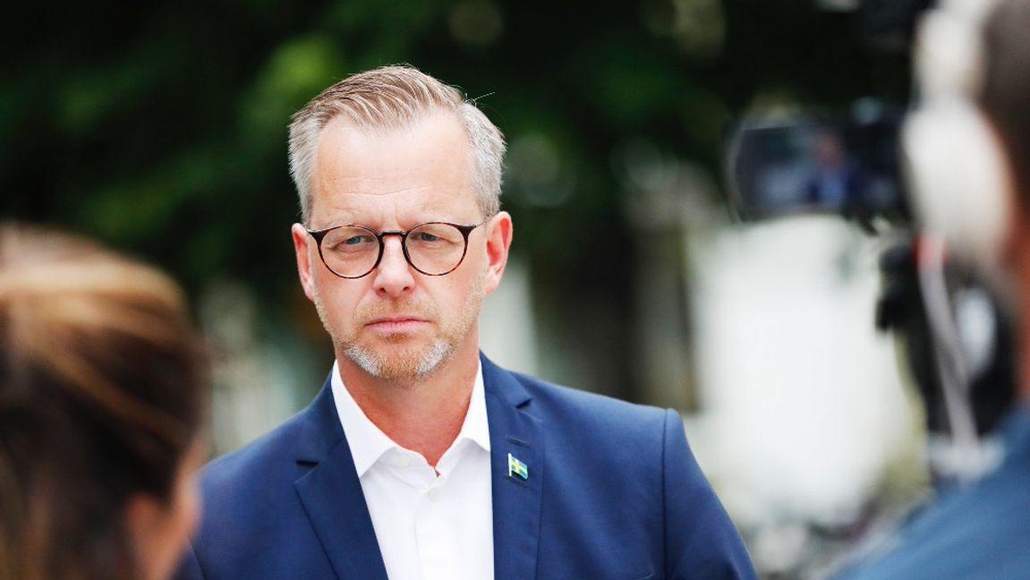 Mikael Damberg gör inte tillräckligt. Foto: Christine Olsson/TT