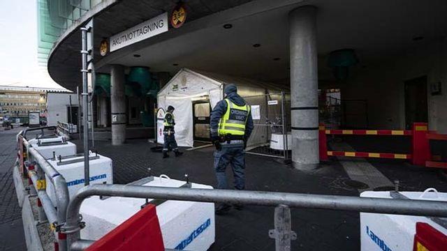 En man har kommit in till SUS i Malmö med stick- eller skärskador. Arkivbild. Foto: Johan Nilsson/TT