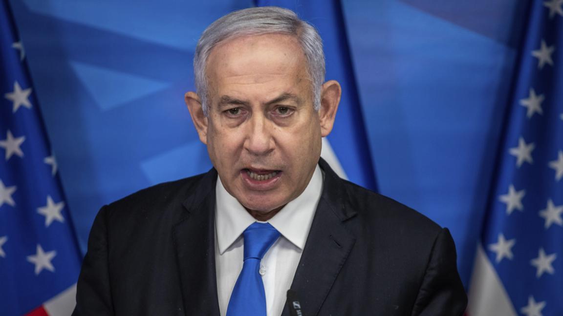 Benjamin Netanyahu står anklagad för flera former av korruption. Foro: Emil Salman.