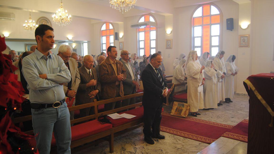 Mer än hälften av Iraks kristna har varit tvungna att fly efter förföljelser. Foto: OLOF BJÖRNSSON JÖNSSON / TT /