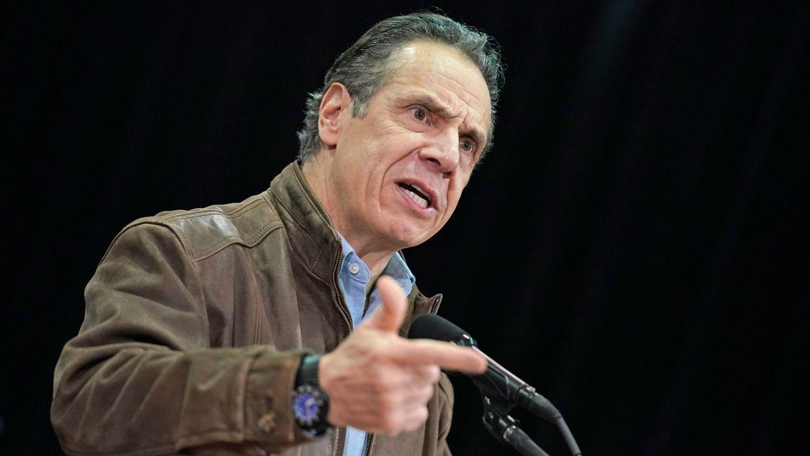 New Yorks guvernör, demokraten Andrew Cuomo. Foto: Seth Wenig.