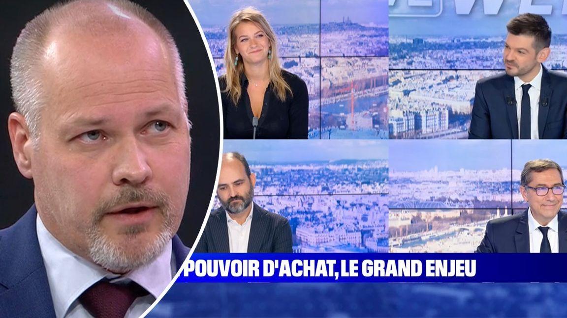 TV-intervjuer och debatter i Sverige håller för det mesta låg klass till skillnad från Frankrike, skriver Chris Forsne i en jämförelse. Foto: SVT/BFMTV