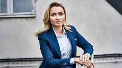 Ebba Busch, KD, har varit pådrivande i oppositionen. Foto: Simon Rehnström, SvD/TT.