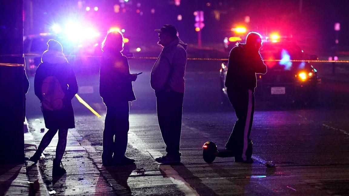 I Los Angeles ökade morden med 30 procent och i New York med nästan 40. I New Orleans, Boston, Minneapoils, Milwaukee, Seattle, Portland, Louisville och Atlanta har morden ökat med över hälften. Foto: Rich Pedroncelli/TT.