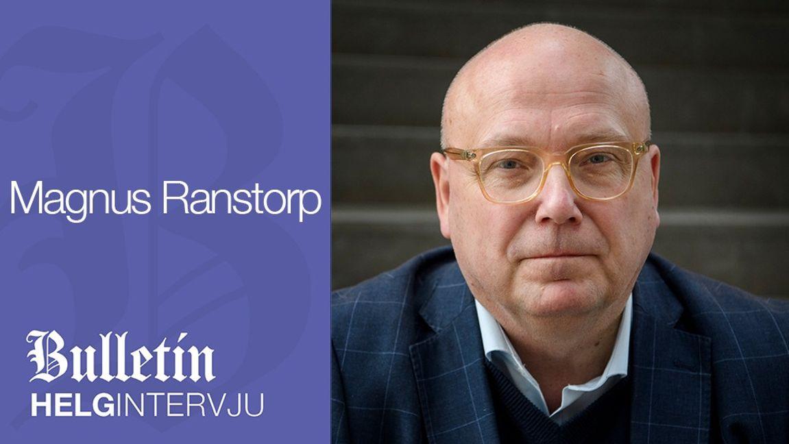 Terrorforskaren Magnus Ranstorp är docent i statsvetenskap och förste gäst i Bulletins Helgintervju. Foto: Jessica Gow/TT.