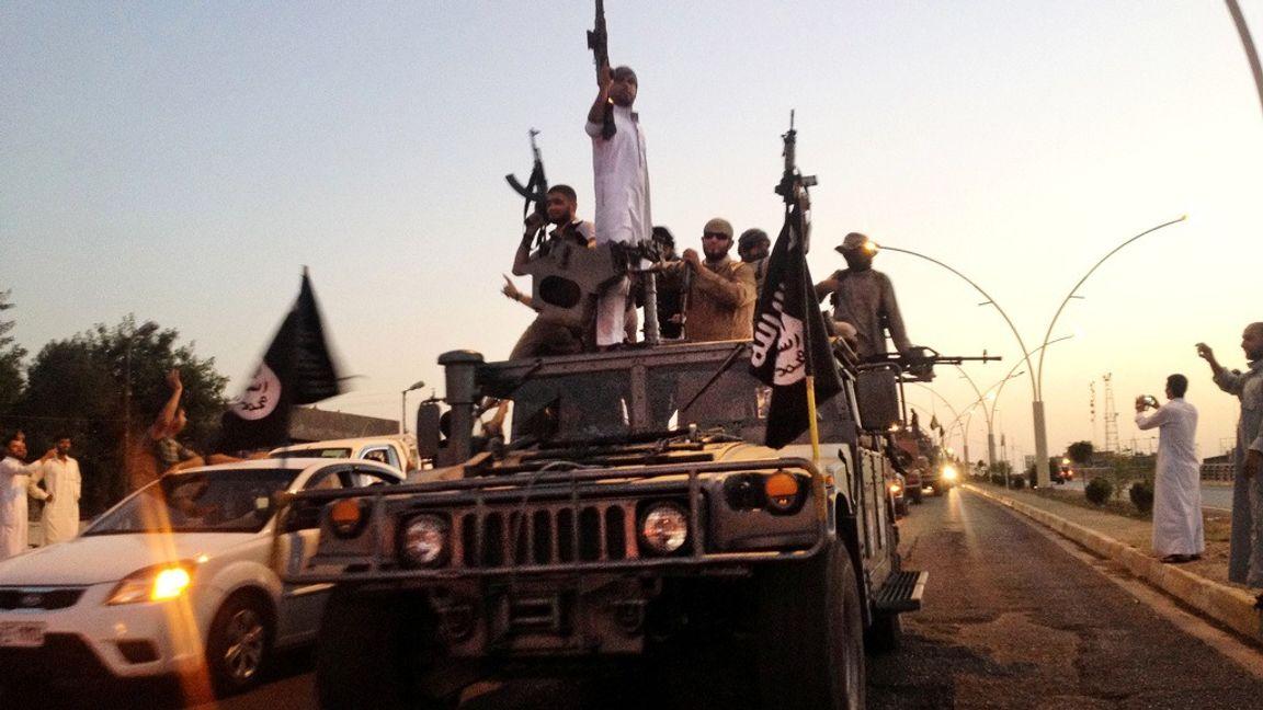 IS-terrorister. Foto: AP.