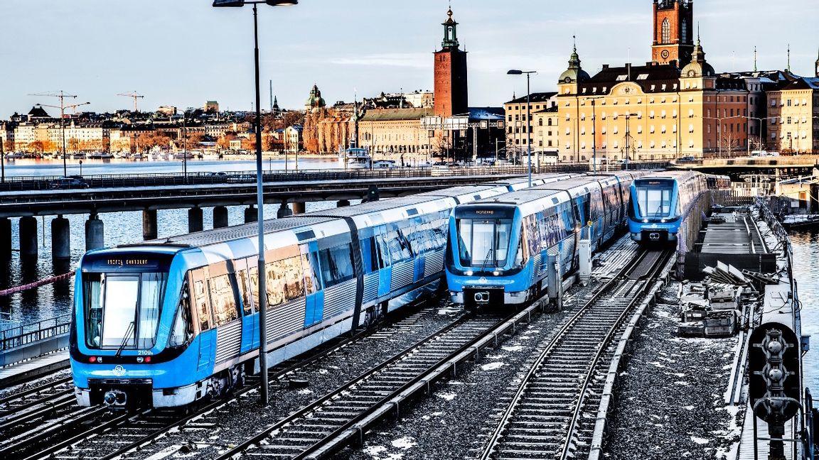 Storstockholms lokaltrafik står inför en stor upphandling av el och man kommer att kunna genomföra den, men långsiktigt finns det en stor oro för elsituationen i staden. Foto: Tomas Oneborg/SvD/TT.